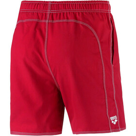 arena Fundamentals Solid Short de bain Homme, red/white